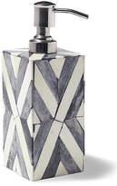 Kassatex Bristol Lotion Dispenser - Gray/White
