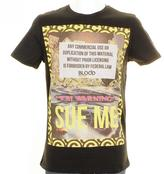 Blood Brother Sue Me T Shirt Black