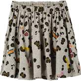 Scotch & Soda Printed Jersey Skirt