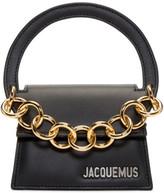 Jacquemus Black le Petit Rond Clutch