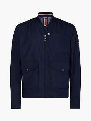 Tommy Hilfiger Water Repellent Stretch Field Bomber Jacket, Navy
