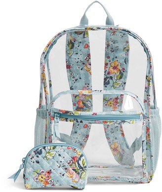 Vera Bradley Clearly Colorful Large BackpackSet
