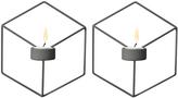 Menu POV Wall Candleholder Set