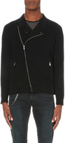 The Kooples Biker-collar knitted cardigan