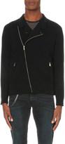 The Kooples Biker-collar knitted cardigan