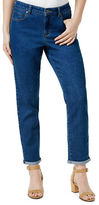 Style And Co. Cropped Mid-Rise Skinny Boyfriend Jeans