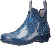 Bogs Women's Harper Batik Rain Bootie, Blue