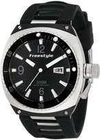 Freestyle Men's 101161 Trench Luminous Hand/Markers Rotate Bezel Watch