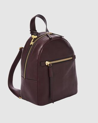 Fossil Megan Purple Backpack