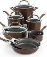 Circulon Symmetry Chocolate 11-Pc. Cookware Set