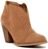 Susina Stevie Perforated Bootie