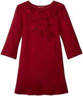 LAmade Kids Belle Dress (Toddler/Kid) - Ox Blood - 2T