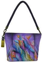 Anuschka Handpainted Hobo Leather Bag