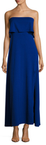 Susana Monaco Bandeau Side Split Maxi Dress