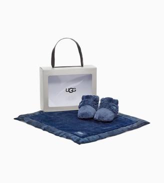 UGG Bixbee Bootie and Lovey Blanket