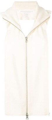 Veronica Beard cashmere zip-up gilet