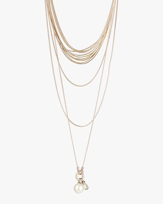 Carolee Kate Multi-Row Layered Necklace