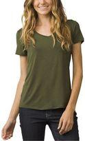 Prana Foundation Short-Sleeve Shirt - Women's Cargo Green M