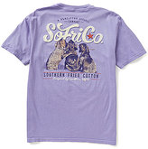Southern Fried Cotton Mens Best Friends Graphic Short-Sleeve Pocket Tee
