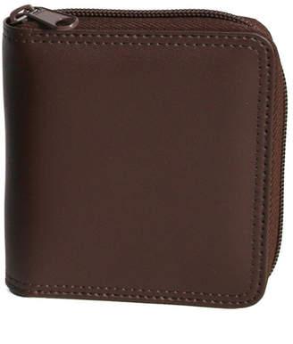 Royce New York Zip Around Bifold Wallet