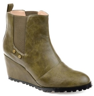 Journee Collection Jessie Wedge Chelsea Boot