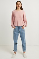 French Connection Willow Jersey Cropped Top