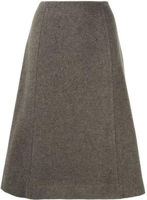 Maison Margiela flared A-line skirt