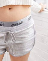 aerie Fleece Shine Short
