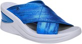 BZees Open Toe Slide Sandals - Vista