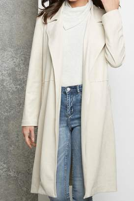 Fifteen-Twenty Fifteen Twenty Faux Suede Coat