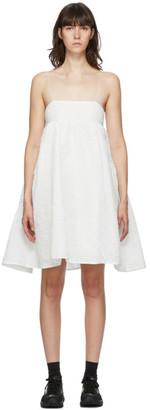 Cecilie Bahnsen White Lisbeth Dress