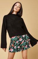 Motel Rocks Jairo Tie Wrap Skirt