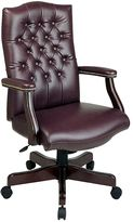 Office star products Office StarTM Products Traditional Executive Chair