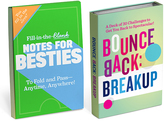 Knock Knock Fill in the Love Notes for Besties & The Bounce Back Challenge
