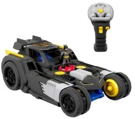 Fisher-Price Imaginext Dc Super Friends Transforming Batmobile Rc Car