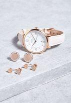 Fossil Jacqueline Watch + Earrings Set