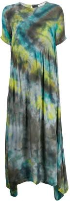 Collina Strada tie-dye maxi dress