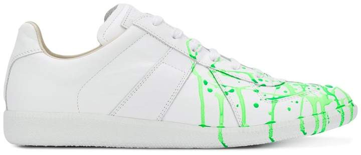 Maison Margiela Splatter Replica sneakers