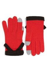 Kate Spade Contrast Bow Tech Friendly Gloves