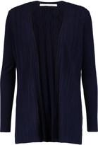 Diane von Furstenberg Bari ribbed silk and cashmere-blend cardigan