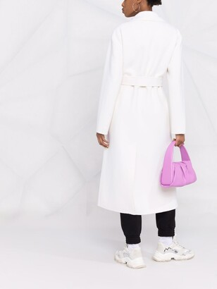 P.A.R.O.S.H. Long Belted Wool Coat