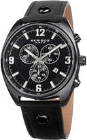 Akribos XXIV Men's Swiss Quartz Chronograph Watch, 43mm wide