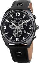 Akribos XXIV Swiss Quartz Chronograph Watch, 43mm wide