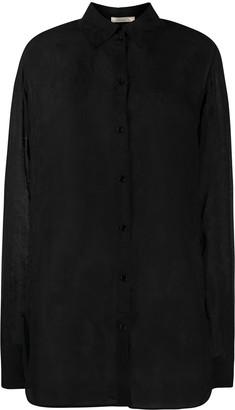 Nina Ricci Lightweight Lace-Detail Shirt