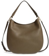 Rebecca Minkoff Unlined Convertible Leather Hobo - Green