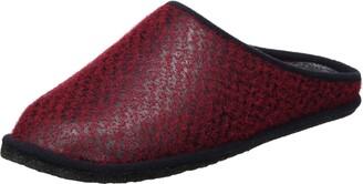 Kitz Pichler kitz-pichler Unisex Adults Leder Franzi Open Back Slippers Grey Size: 11 UK