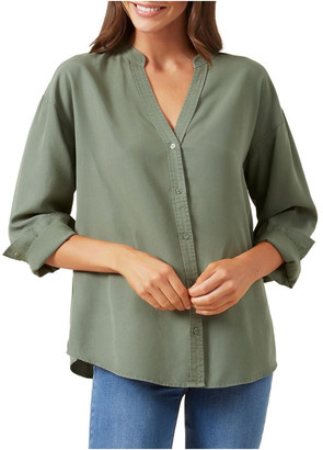 French Connection Overdyed Relaxed Shirt