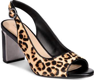 Alfani Women Florraa Slingback Dress Sandals, Women Shoes