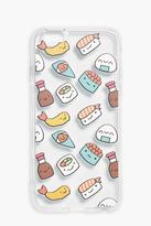 Boohoo Sushi Clear iPhone 6 Case clear