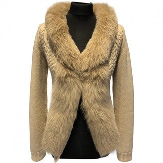 Louis Vuitton Beige Fox Knitwear for Women